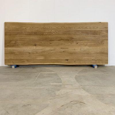 Tischplatte Baumkante Eiche