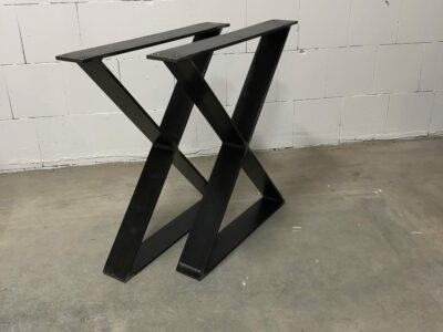 Stahlkreuz Tischgestell