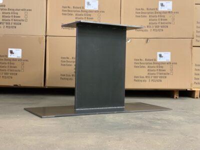 Mittelfuß Tischgestell Stahl