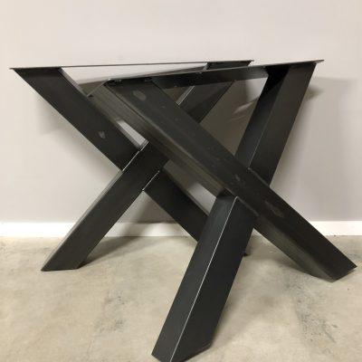 Tischgestell X Bein