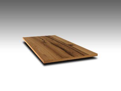 Massivholztisch Altholz Stahlwangen