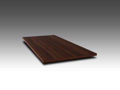 Astfrei Tischplatte Nussbaum 4 cm nach Maß