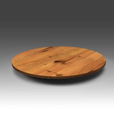 Runde Tischplatte Eiche