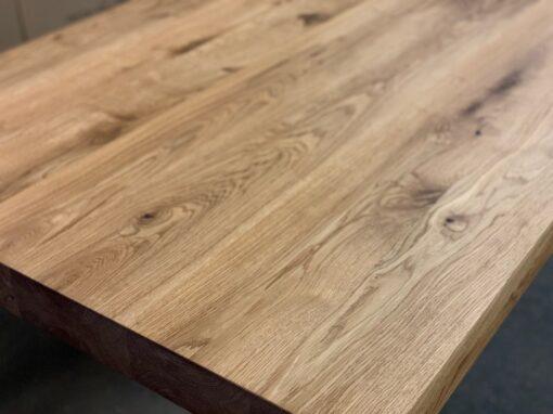 Tischplatte Eiche geölt