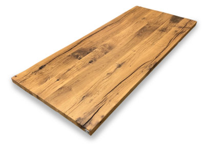Altholz Tischplatte Eiche 4 cm