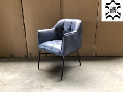 Vintage Stuhl Büffelleder