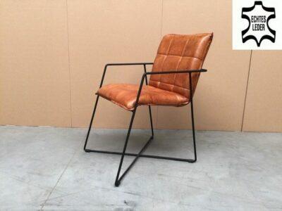 Moderner Stuhl Leder