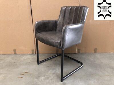 Freischwinger Stuhl Leder BL183
