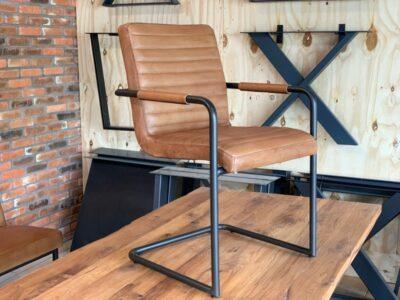 Stuhl Büffelleder 125BLP