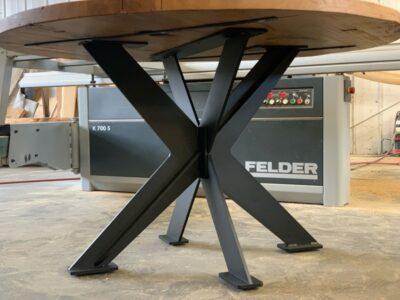 Tischuntergestell Diva rund