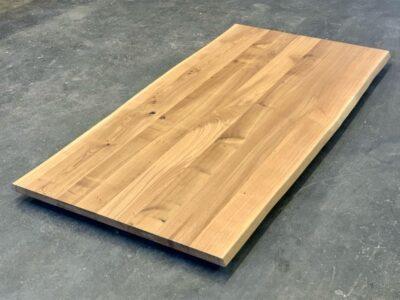 Baumkanten Tischplatte Eiche 6 cm nach Maß