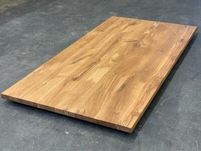 Massivholz Tischplatte Eiche 4 cm nach Maß