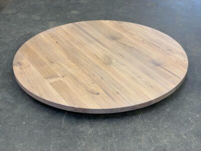 Runde Tischplatte Eiche 6 cm nach Maß