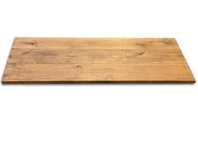 Rustikale Tischplatte Eiche 4 cm